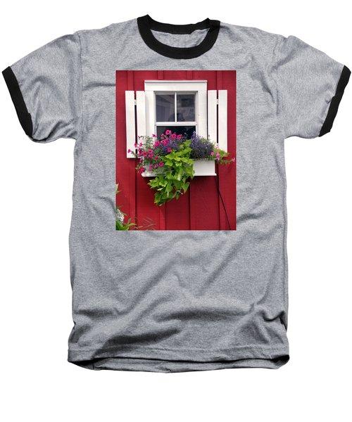 Cape Cod Window Box Baseball T-Shirt