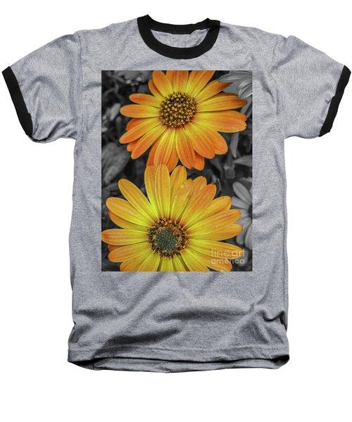 Cape Daisy's - Orange Baseball T-Shirt