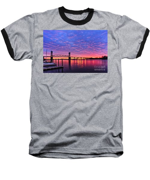 Cape Fear Bridge1 Baseball T-Shirt