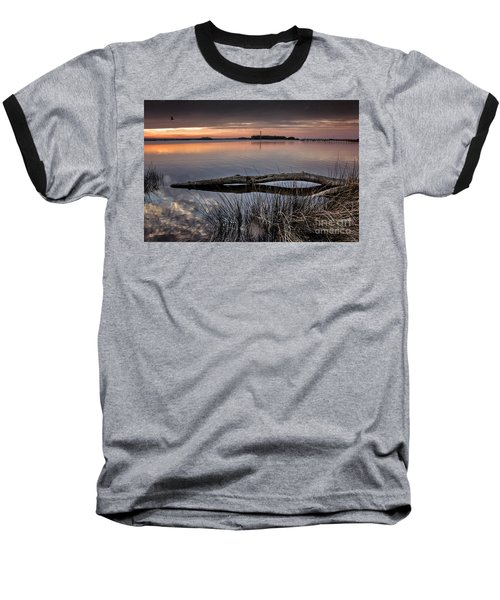 Baseball T-Shirt featuring the photograph Cape Fear Sunset Serenity by Phil Mancuso