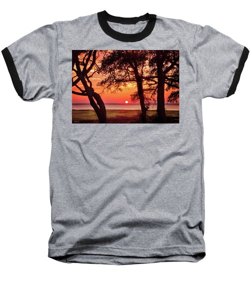 Baseball T-Shirt featuring the photograph Cape Fear Tranquility by Phil Mancuso