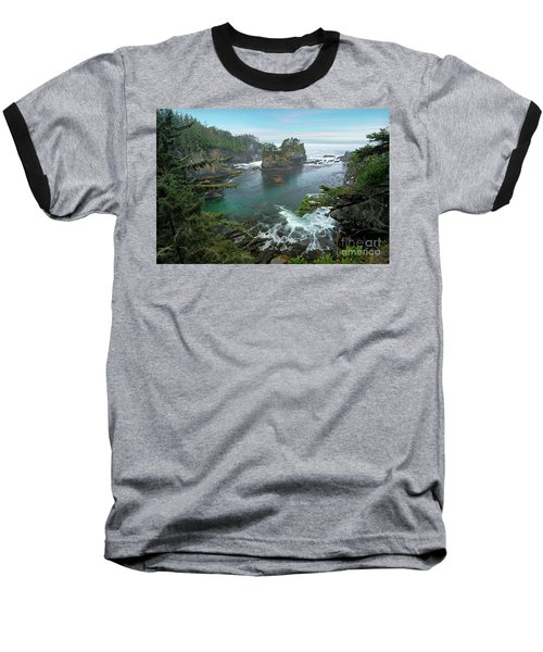 Cape Flattery North Western Point Baseball T-Shirt