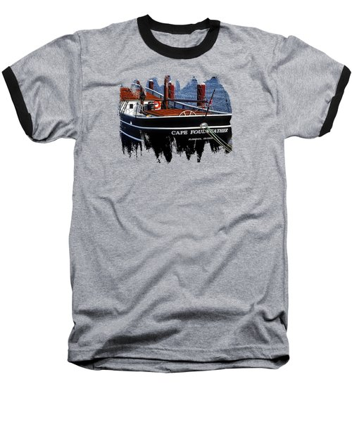 Cape Foulweather Two Baseball T-Shirt by Thom Zehrfeld