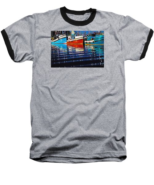 Cape Harbour Baseball T-Shirt by Dennis Cox WorldViews