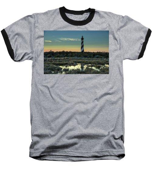Cape Hatteras Sunset Baseball T-Shirt