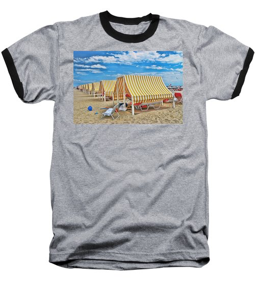 Cape May Cabanas 2 Baseball T-Shirt