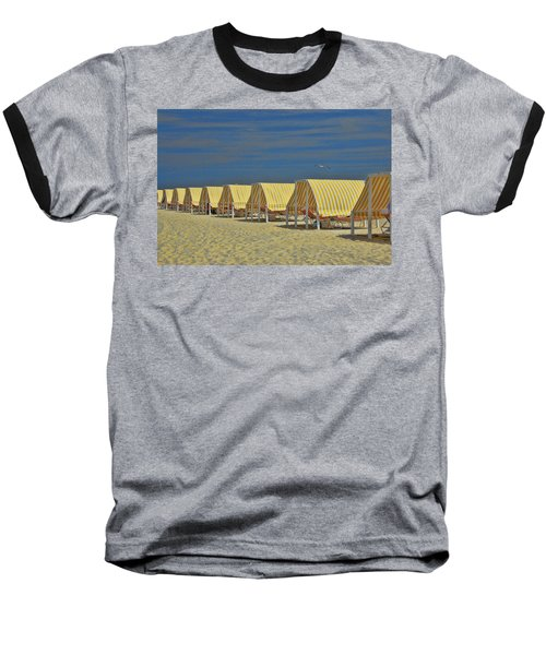 Cape May Cabanas 6 Baseball T-Shirt