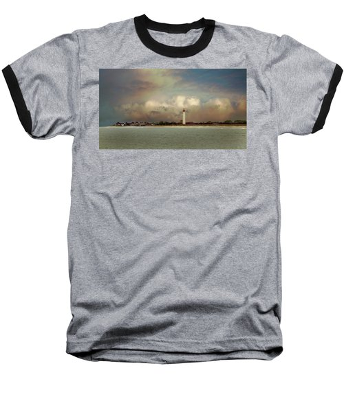Cape May Lighthouse II Baseball T-Shirt