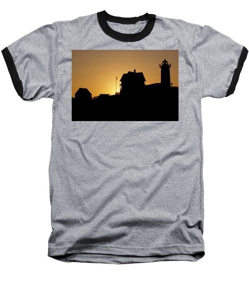 Cape Neddick-nubble Light Baseball T-Shirt