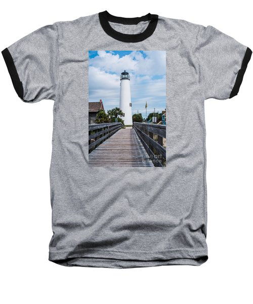 Cape St. George Lighthouse Baseball T-Shirt