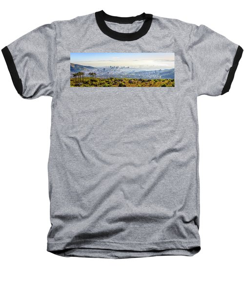 Baseball T-Shirt featuring the photograph Cape Town by Alexey Stiop