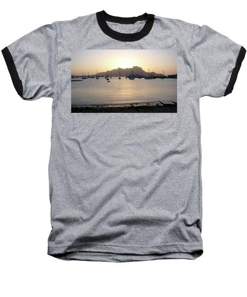 Cape Verde Sunset Baseball T-Shirt