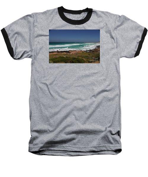 Capetown Peninsula Beach Baseball T-Shirt