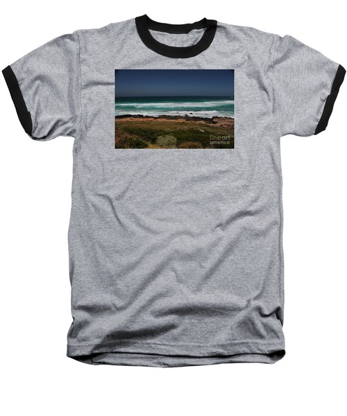 Capetown Penisula Beach Baseball T-Shirt