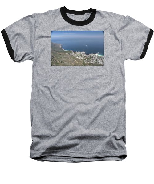 Capetown, South Africa Baseball T-Shirt by Bev Conover