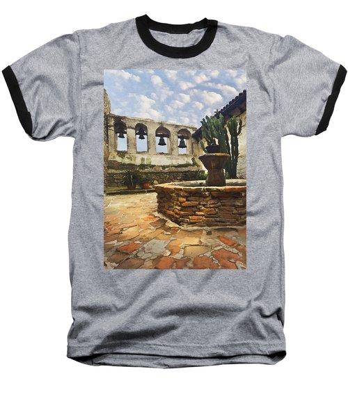 Capistrano Fountain Baseball T-Shirt