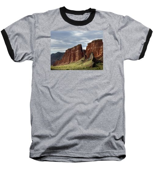 Capital Reef-cathedral Valley 9 Baseball T-Shirt by Jeff Brunton
