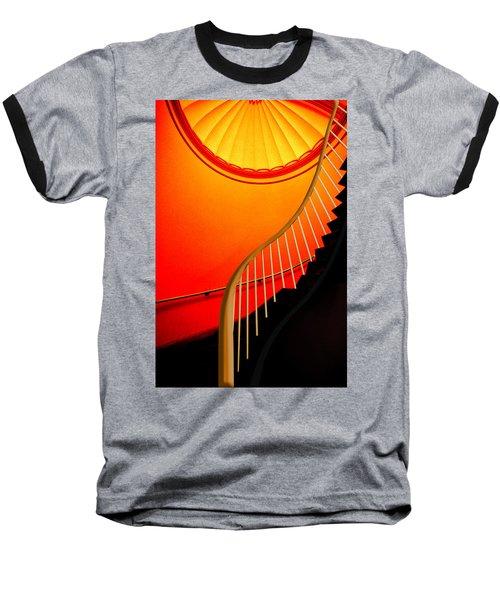 Capital Stairs Baseball T-Shirt by Paul Wear