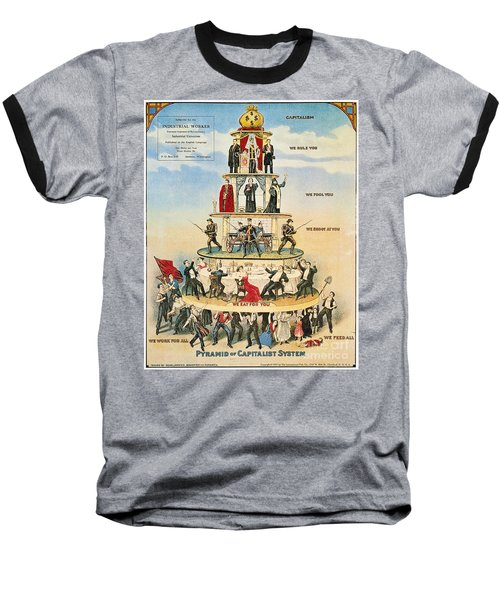 Capitalist Pyramid, 1911 - To License For Professional Use Visit Granger.com Baseball T-Shirt