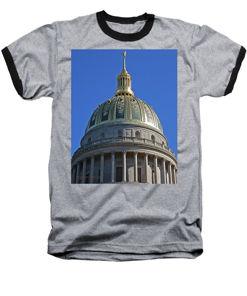 Capitol Dome Charleston Wv Baseball T-Shirt
