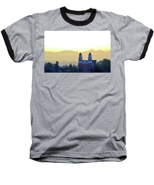 Capitol Hill Sun Up Baseball T-Shirt