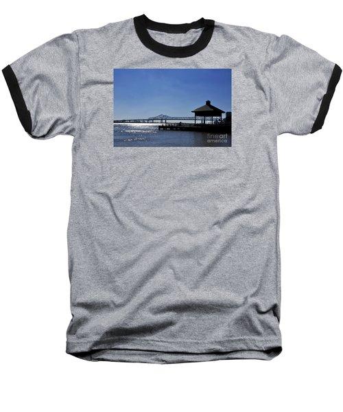 Capitol One Plaza Baseball T-Shirt