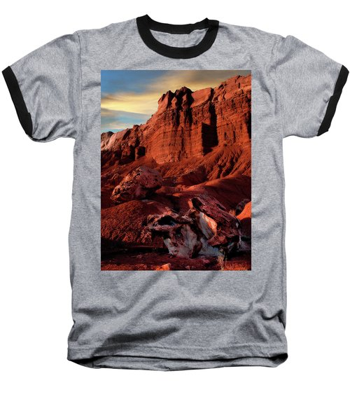 Capitol Reef National Park Baseball T-Shirt by Utah Images