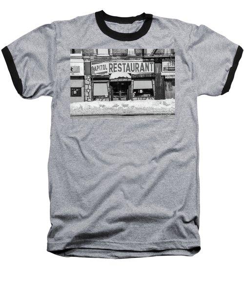 Capitol Restaurant Baseball T-Shirt