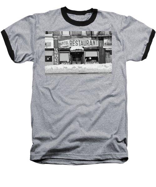 Capitol Winter Baseball T-Shirt