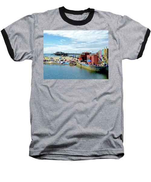 Capitola Begonia Festival Weekend Baseball T-Shirt