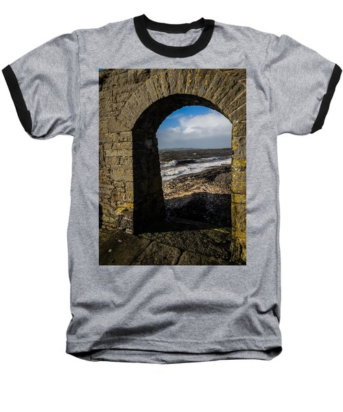 Cappagh Pier And Ireland's Shannon Estuary Baseball T-Shirt