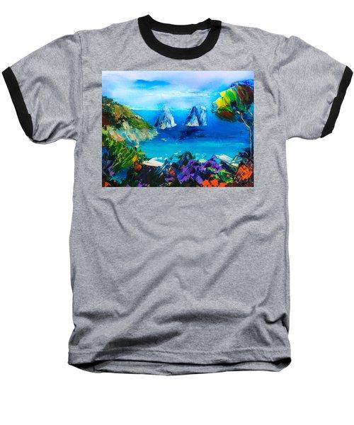 Capri Colors Baseball T-Shirt