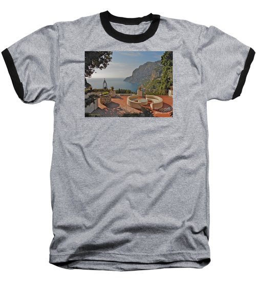 Capri Panorama Baseball T-Shirt