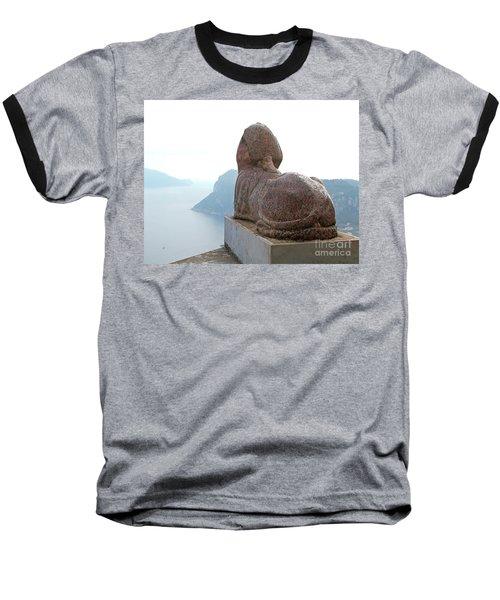 Baseball T-Shirt featuring the photograph Capri, Villa San Michele 1 by Wilhelm Hufnagl