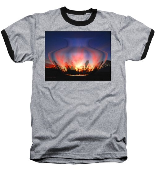 Baseball T-Shirt featuring the photograph Capricorn Morning by Joyce Dickens