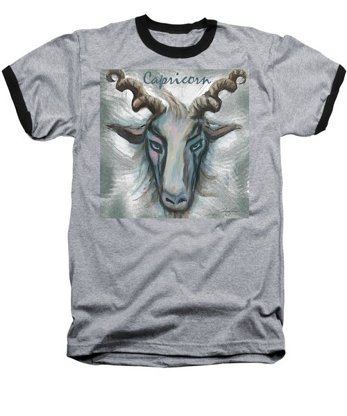 Capricorn Baseball T-Shirt