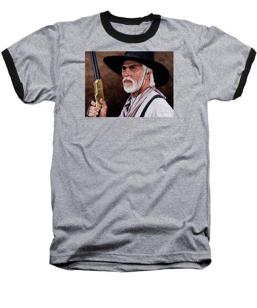 Captain Woodrow F Call Baseball T-Shirt by Rick McKinney