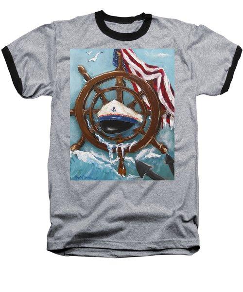 Captain's Home Baseball T-Shirt