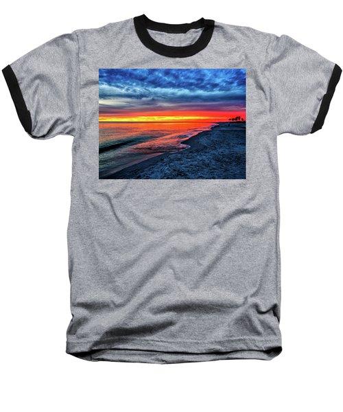 Captiva Island Sunset Baseball T-Shirt