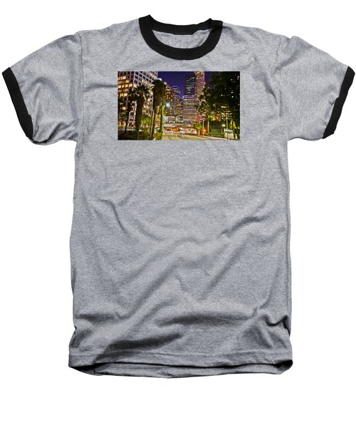 Captive In The City Light Embrace Baseball T-Shirt