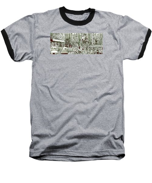 Capture On Endor Baseball T-Shirt by Kurt Ramschissel