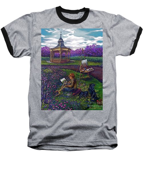 Capturing The Light Baseball T-Shirt