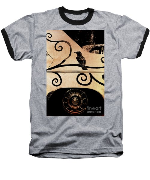 Car Art Baseball T-Shirt