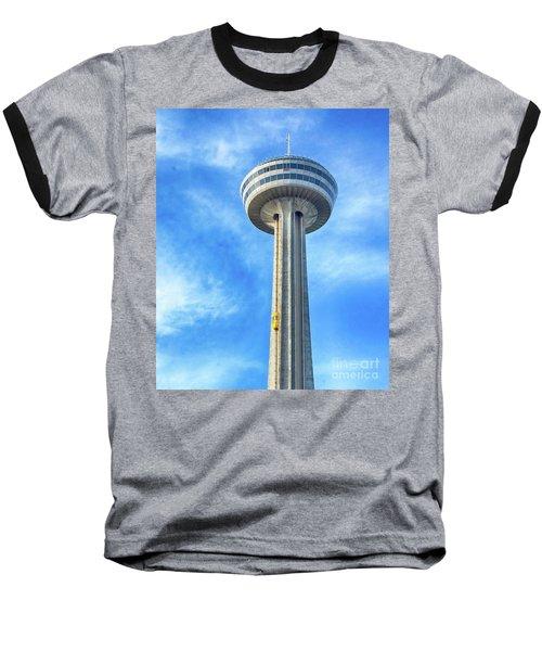Car On Skylon Tower Baseball T-Shirt