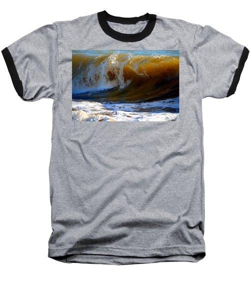Caramel Swirl Baseball T-Shirt