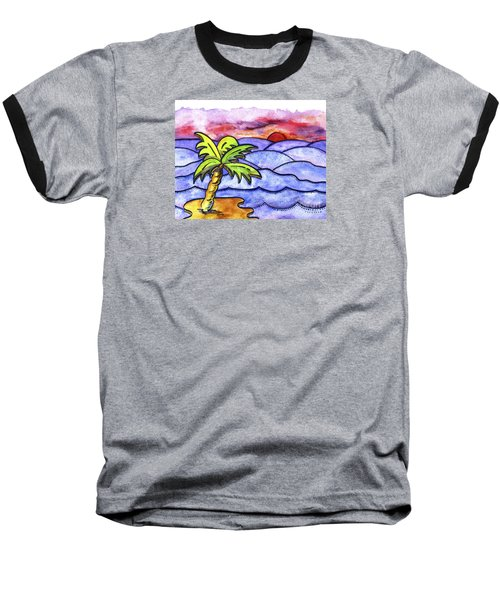 Rolling Seas Baseball T-Shirt