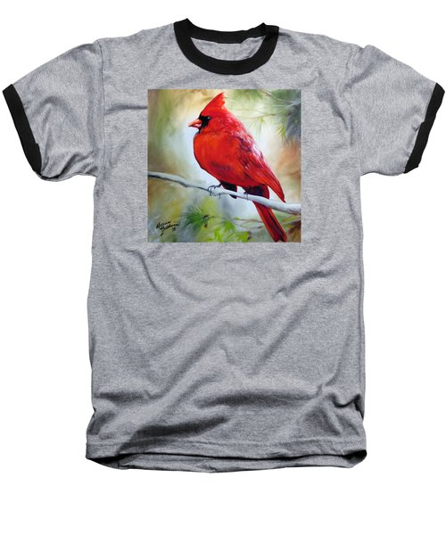 Cardinal 18 Baseball T-Shirt