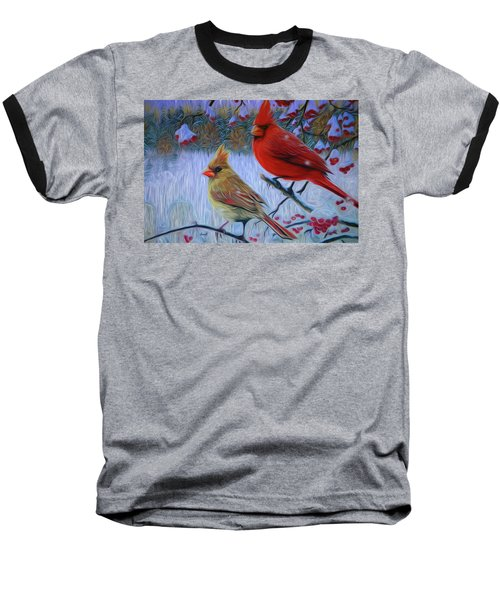Cardinal Family Baseball T-Shirt