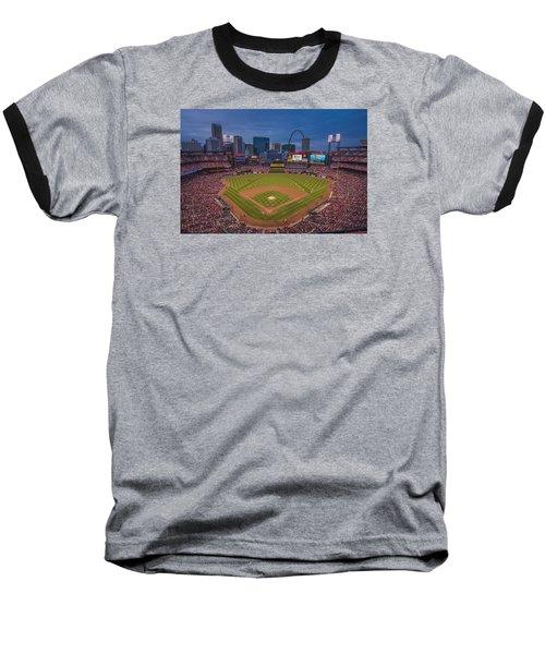 Cardinal Nation Busch Stadium St. Louis Cardinals Twilight 2015 Baseball T-Shirt