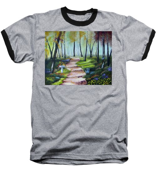 Cardinal Paradise Baseball T-Shirt